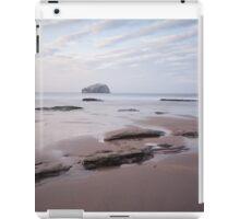 Bass Rock view iPad Case/Skin