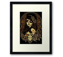 Night of the Kitsune Mask Framed Print