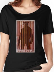 westworld boy poster Women's Relaxed Fit T-Shirt