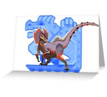 Monster Hunter - Great Jaggi Greeting Card