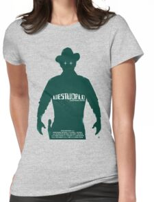 vacation westworld Womens Fitted T-Shirt