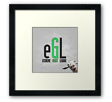 eXtreme Goats League Framed Print