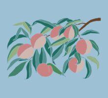 Peach Tree One Piece - Short Sleeve