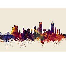 Boston Massachusetts Skyline Photographic Print
