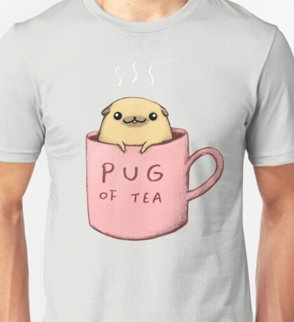Pug of Tea Unisex T-Shirt