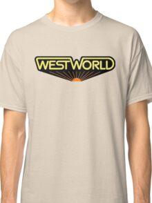 sticker westworld Classic T-Shirt