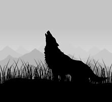 Wolf in mountains by Aleksander1