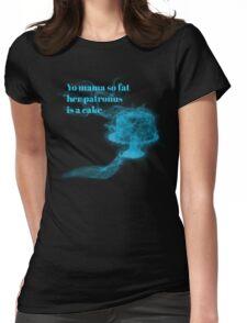 Yo mama so fat..... Womens Fitted T-Shirt
