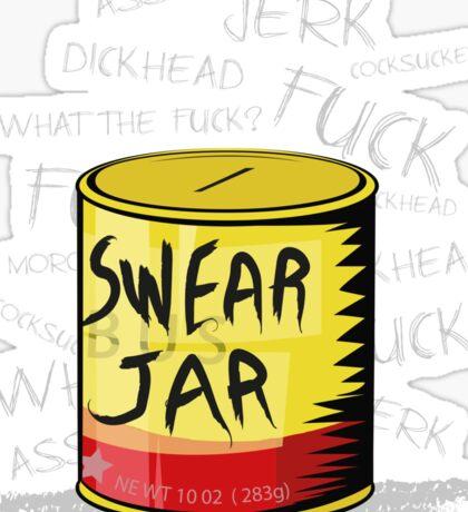 Luke Cage - Swear Jar  Sticker