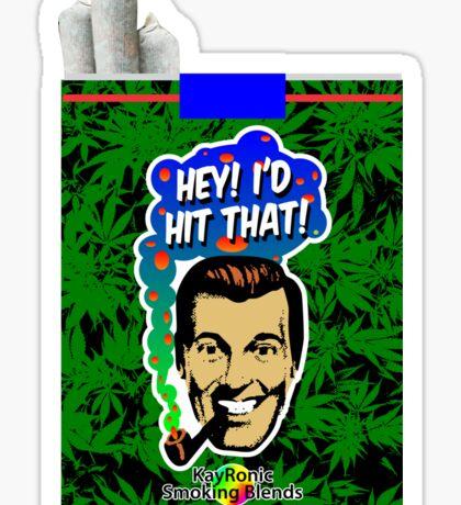 Hey I'd Hit That! Sticker