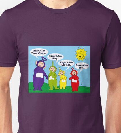 Teletubbies Edgar Allan Poe Card Unisex T-Shirt