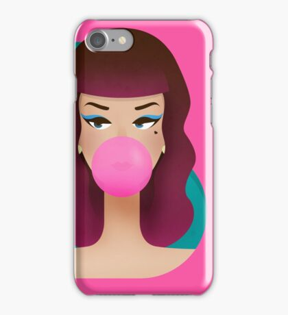 Vintage Pop Doll iPhone Case/Skin