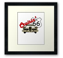 Cruisin' the Mother Road - US Route 66 Framed Print