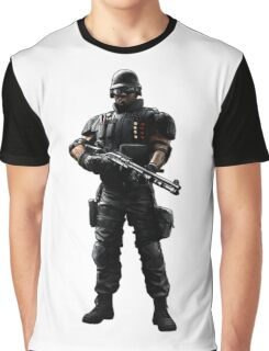 Castle - Rainbow 6 Siege - full Graphic T-Shirt