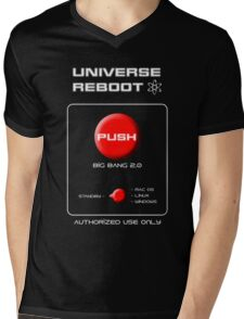 Universe Reboot Mens V-Neck T-Shirt