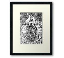 ancient futurism Framed Print