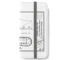 There was an old woman who lived in a shoe iPhone Wallet/Case/Skin