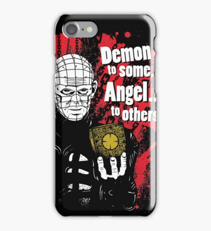 Demon to some. Angel... to others. iPhone Case/Skin
