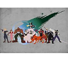 Final Fantasy VII Characters Photographic Print