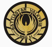 Battlestar Valkyrie Golden Logo (model 1) by ObiOneStenobi
