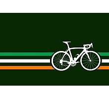 Bike Stripes Irish National Road Race v2 Photographic Print