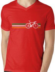 Bike Stripes Irish National Road Race v2 Mens V-Neck T-Shirt
