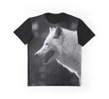 Wolf, White Wolf Graphic T-Shirt
