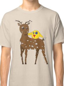 Diego the Deer and Yellow Bird Classic T-Shirt