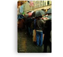 Rainy Afternoon on Broaway Canvas Print