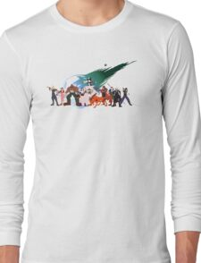 (NO BACKGROUND) Final Fantasy VII Characters Long Sleeve T-Shirt