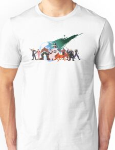 (NO BACKGROUND) Final Fantasy VII Characters Unisex T-Shirt