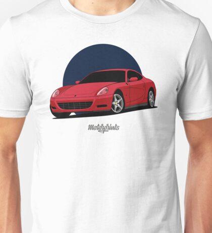 Ferrari 612 Scaglietti (red) Unisex T-Shirt