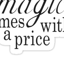 The Price of Magic Sticker
