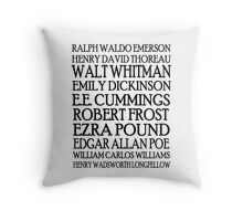 Poet Lovers Throw Pillow