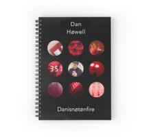Dan Howell Blurryface Album Spiral Notebook