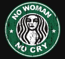 No woman no cry - distressed by geekogeek