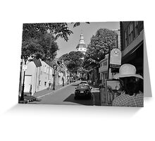 Painting the Street, MD Capital  Greeting Card
