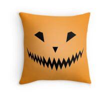 Halloween Smile Throw Pillow