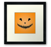 Halloween Smile Framed Print