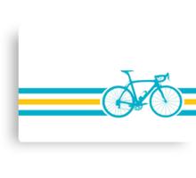 Bike Stripes Kazakhstan v2 Canvas Print