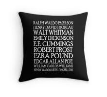 Poet Lovers 2 Throw Pillow