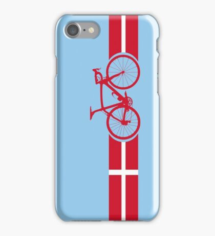 Bike Stripes Danish National Road Race iPhone Case/Skin