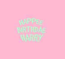 Happee Birthdae Harry  by davosseafood