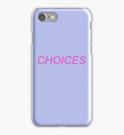 Choices - Tatianna iPhone Case/Skin