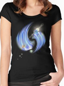 new galaxy1 Women's Fitted Scoop T-Shirt