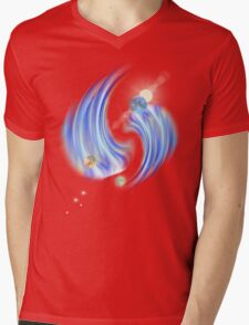 new galaxy1 Mens V-Neck T-Shirt