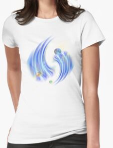 new galaxy1 Womens Fitted T-Shirt