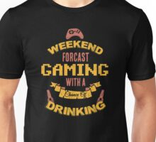 Gaming with a Chance of Drinking Unisex T-Shirt