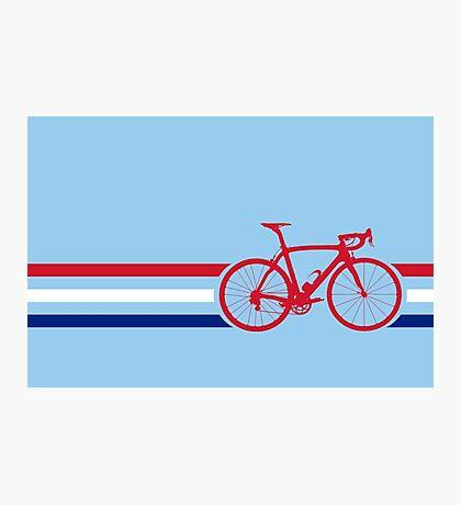 Bike Stripes British National Road Race v2 Photographic Print