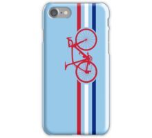 Bike Stripes British National Road Race v2 iPhone Case/Skin